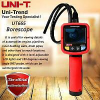 "Цифровой USB-эндоскоп UNI-T UT665 с 2,4"" TFT-дисплеем, водонепроницаемый"