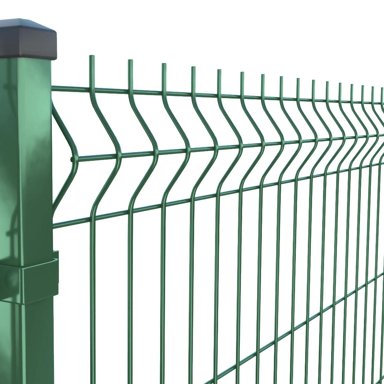 Секция ограждения 3D Забор™ – 2500х1530 мм, Ø 4 мм