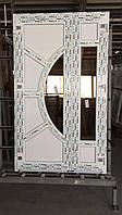 Двери входные штульповые из 6-камерного профиля WDS Ultra 6 1100x2100 мм