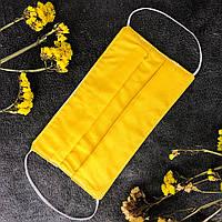Багаторазова маска з поліуретаном Жовта PPF/ Многоразовая защитная маска желтая, маска питта НЕТ АНАЛОГОВ
