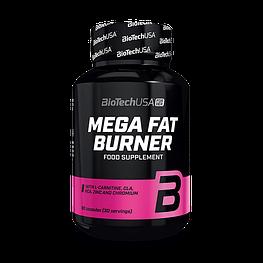 Жироспалювач Mega Fat Burner BioTech 90 капсул