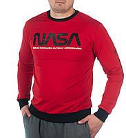 """Свитшот мужской молодежный """"NASA"""" размеры46-52, цвет уточняйте при заказе"""