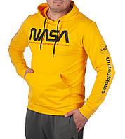 """Батник мужскойхуди """"NASA"""" размеры46-52, цвет уточняйте при заказе"""