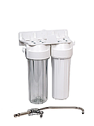Фільтр під мийку двоступінчастий Aquafilter FP2-W-K1