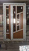 Двери входные штульповые из 7-камерного профиля WDS Ultra 7 1200x2050 мм