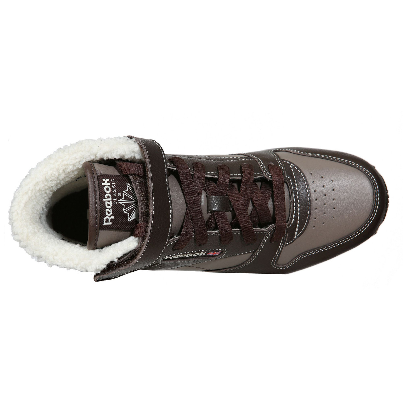 b845a47f071f ... Детские утепленные кроссовки Reebok CLASSIC LEATHER (Артикул  M46338),  фото 6