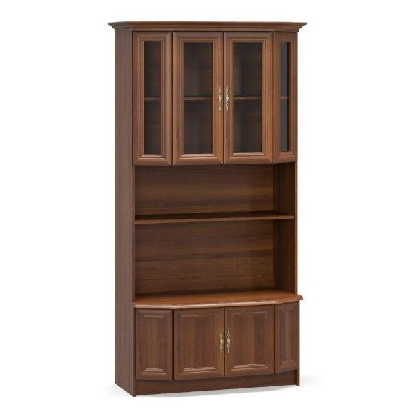 Шкаф-витрина 1000 Эко орех