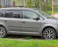 Ветровики VW Touran II 2010  дефлекторы окон