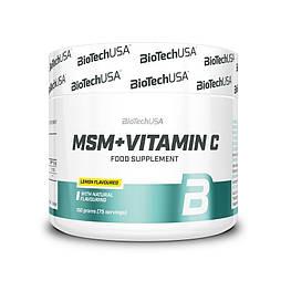 MSM + Vitamin C BioTech 150 г