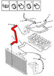 Патрубок радиатора нижний Geely CK, CK2, фото 2