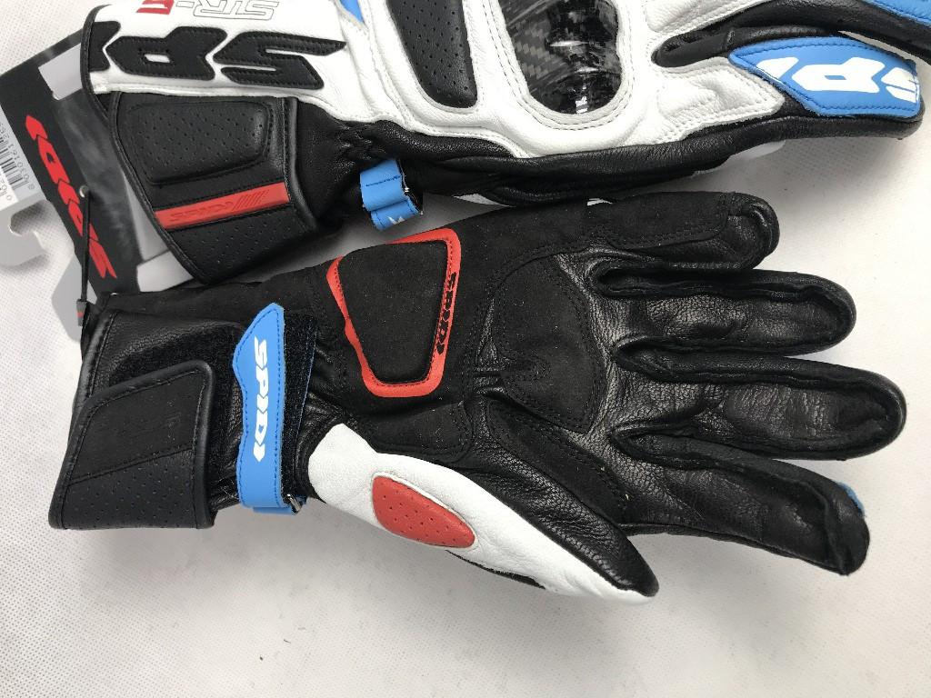 Кожаные мотоперчатки Spidi  STR 5 A175 размер L из Италии