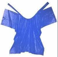 Пеньюар Panni Mlada 0,9х1,6 м (10 шт/пач)  из полиэтилена цвет: синий/blue