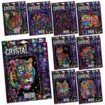 """Набір для творчості """"Мозаїка з кристалів CRYSTAL MOSAIC"""" (20), Danko Toys, CRM-01"""