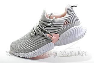 Женские кроссовки в стиле Adidas Originals Alphabounce Instinct, Gray\White