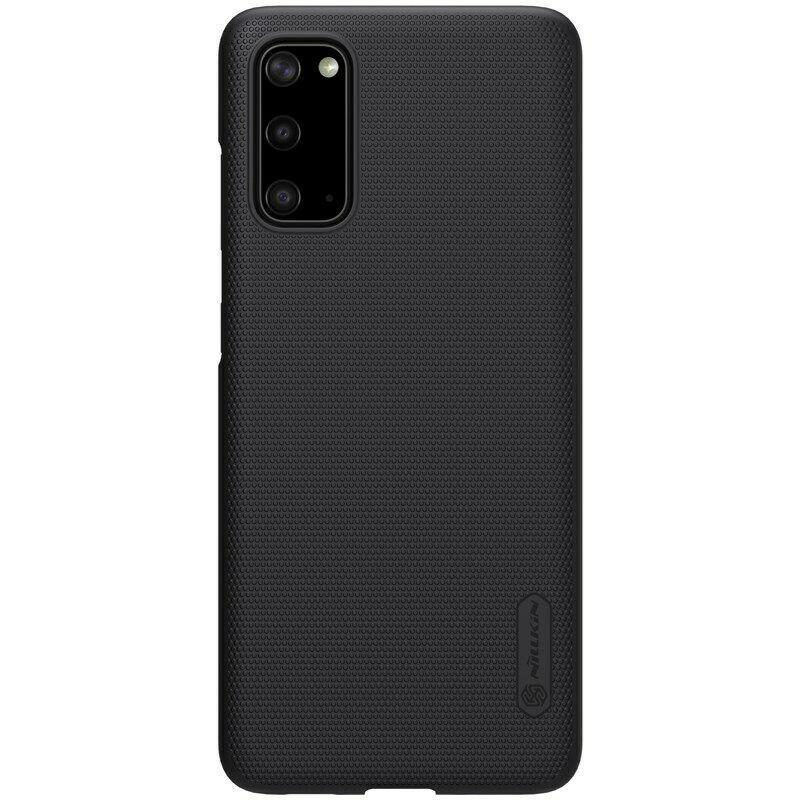 Nillkin Samsung Galaxy S20 Super Frosted Shield Black Чохол Накладка Бампер