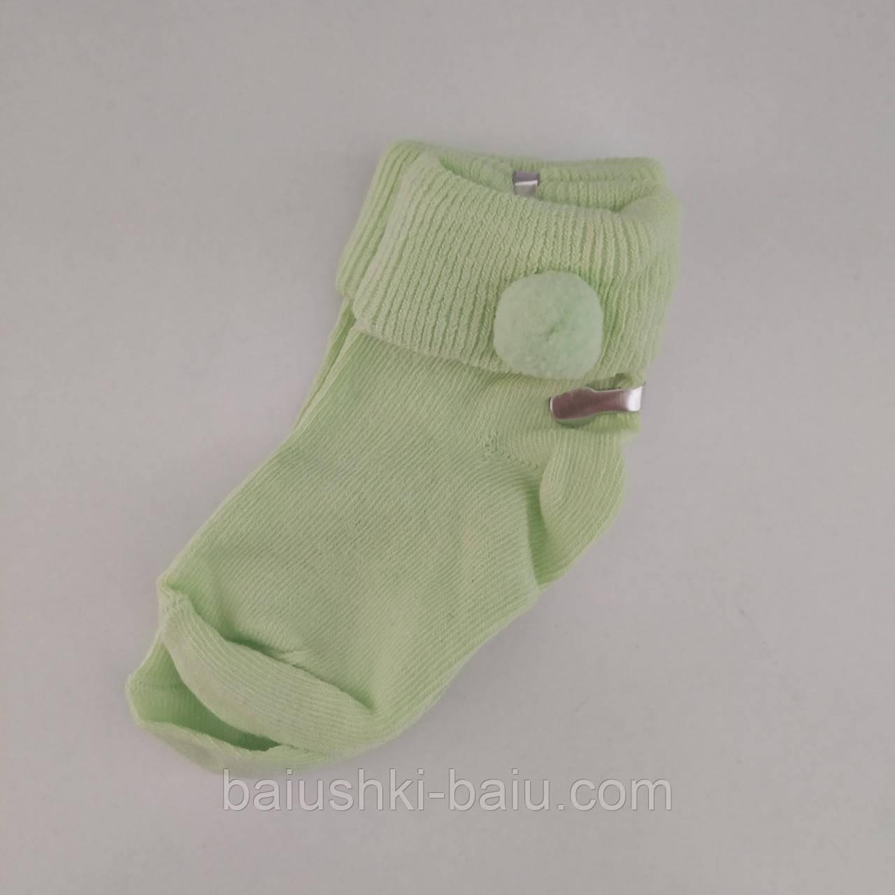 Носки хлопковые для новорожденного, р. 0-3 мес. Турция