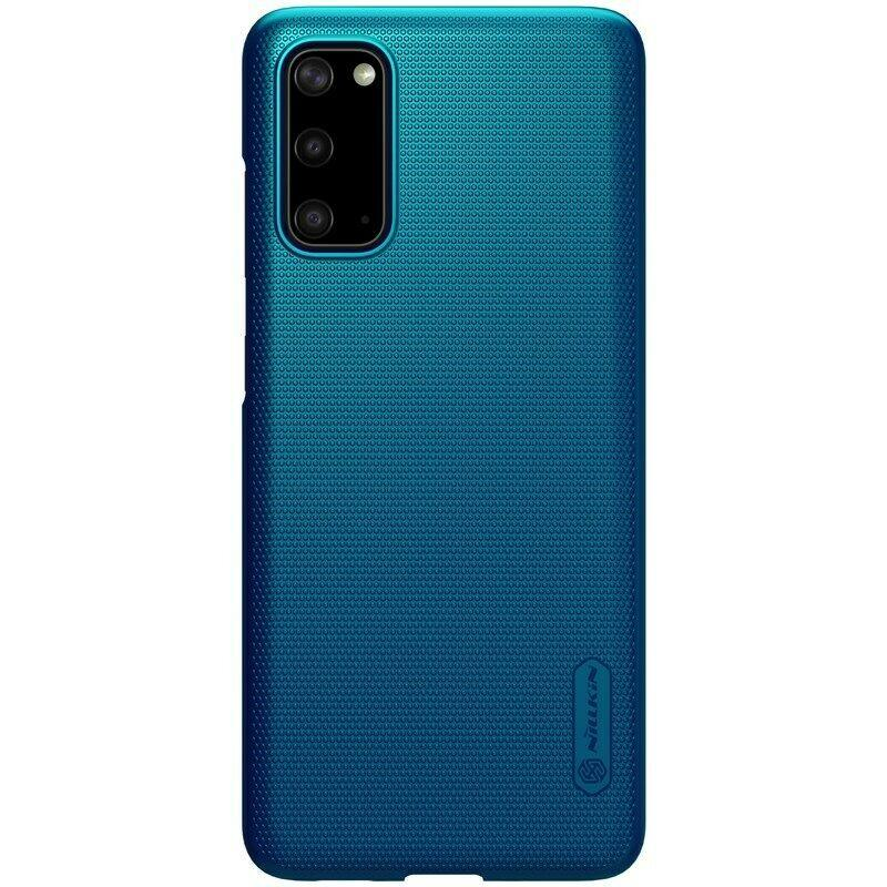 Nillkin Samsung Galaxy S20 Super Frosted Blue Shield Чохол Накладка На Бампер