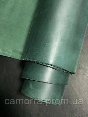 Кожа Крейзи Хорс зеленый, фото 2