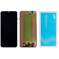 Дисплей (LCD) Samsung GH82-19347A M305 Galaxy M30 AMOLED з тачскріном, чорний (сервісний оригінал)