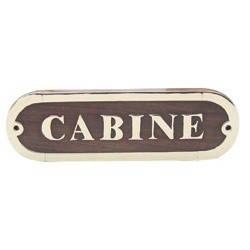 "Табличка "" Cabine """
