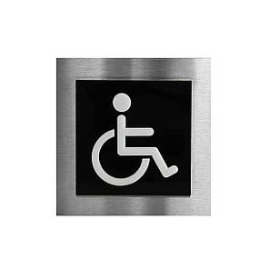 Табличка на туалет для людей с ограниченными возможностями, фото 2
