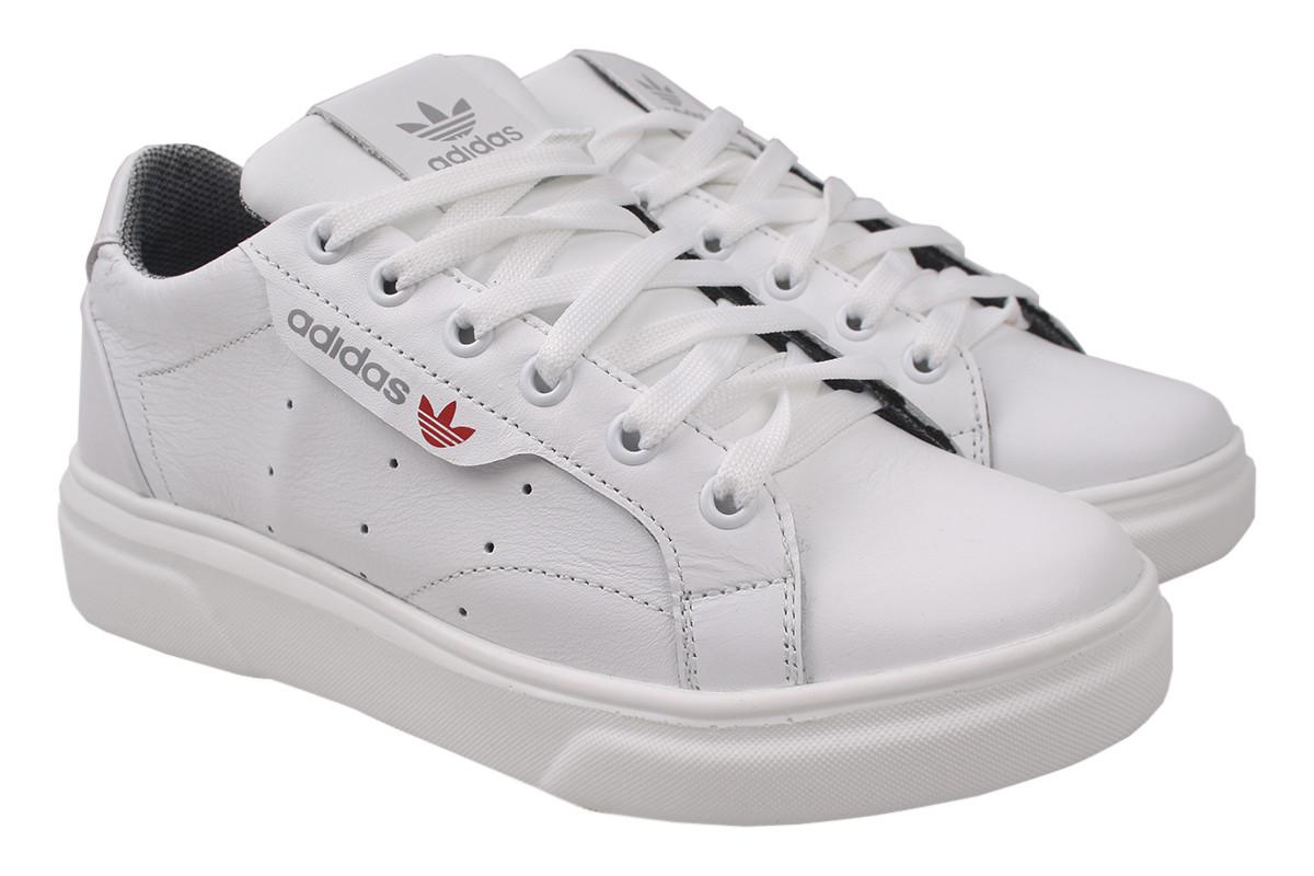Туфлі чоловічі Road Style натуральна шкіра, колір білий, розмір 36-40, Україна