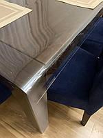 Покрытие мягкое стекло на столещницу толщина 0.8 мм ширина 1.4 м на МЕТРАЖ