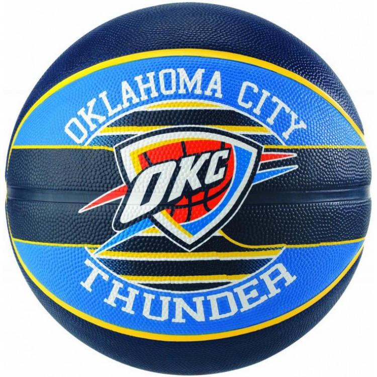 Мяч баскетбольный Spalding Nba Team OC Thunder Size 7 SKL41-238034