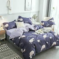 Комплект постельного белья Овечки (двуспальный-евро) Berni