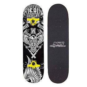Скейтборд Nils Extreme Antihero SKL41-238029
