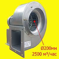 Вентилятор радиальный Турбовент ВЦР 200 1Ф, 220V, диаметр подключения 200мм