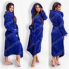 Халаты махровые женские длинные