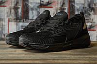 Мужские кроссовки в стиле Supo GTS, текстильная, пена, черные 42 (27 см)