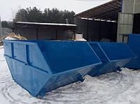 """Накопительный бункер """"Лодочка"""" 8 м.куб из металла 2-4мм"""