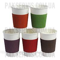 Термочехол цветной клееный для стакана 250-340мл 1/1000