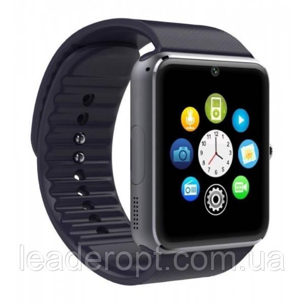 Smart - розумні годинник з квадратним циферблатом, камерою, шагометром і функцією дзвінків Smart Watch GT08 ОПТ