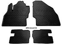 Резиновые автомобильные коврики в салон OPEL Corsa E 2014 опель корса е Stingray