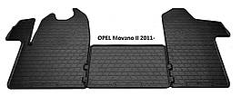 Коврики в салон резиновые Stingray Opel Movano II 2011