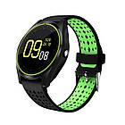 Умные Smart - часы спортивные стильные с сенсорным экраном и камерой в разных цветах V9 ОПТ, фото 3