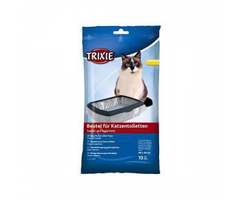 Пакеты уборочные для кошачих туалетов 10шт/уп L 46*59см, Trixie