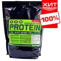 Сывороточный протеин для набора массы 78% белка (малина) развесной