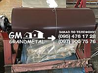 Гладкий лист коричневый РАЛ 8017, полимерный рулон коричневого цвета RAL 8017, фото 1