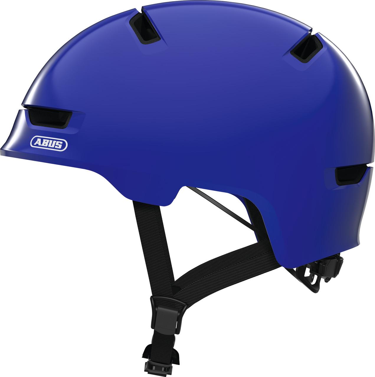 Велошлем детский ABUS SCRAPER 3.0 KID Shiny Blue S (51-55 см)