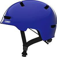 Велошлем детский ABUS SCRAPER 3.0 KID Shiny Blue S (51-55 см), фото 1