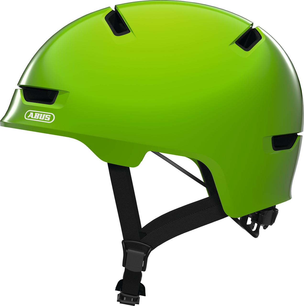 Велошлем детский ABUS SCRAPER 3.0 KID Shiny Green S (51-55 см)