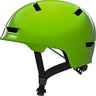 Велошлем детский ABUS SCRAPER 3.0 KID Shiny Green S (51-55 см), фото 1