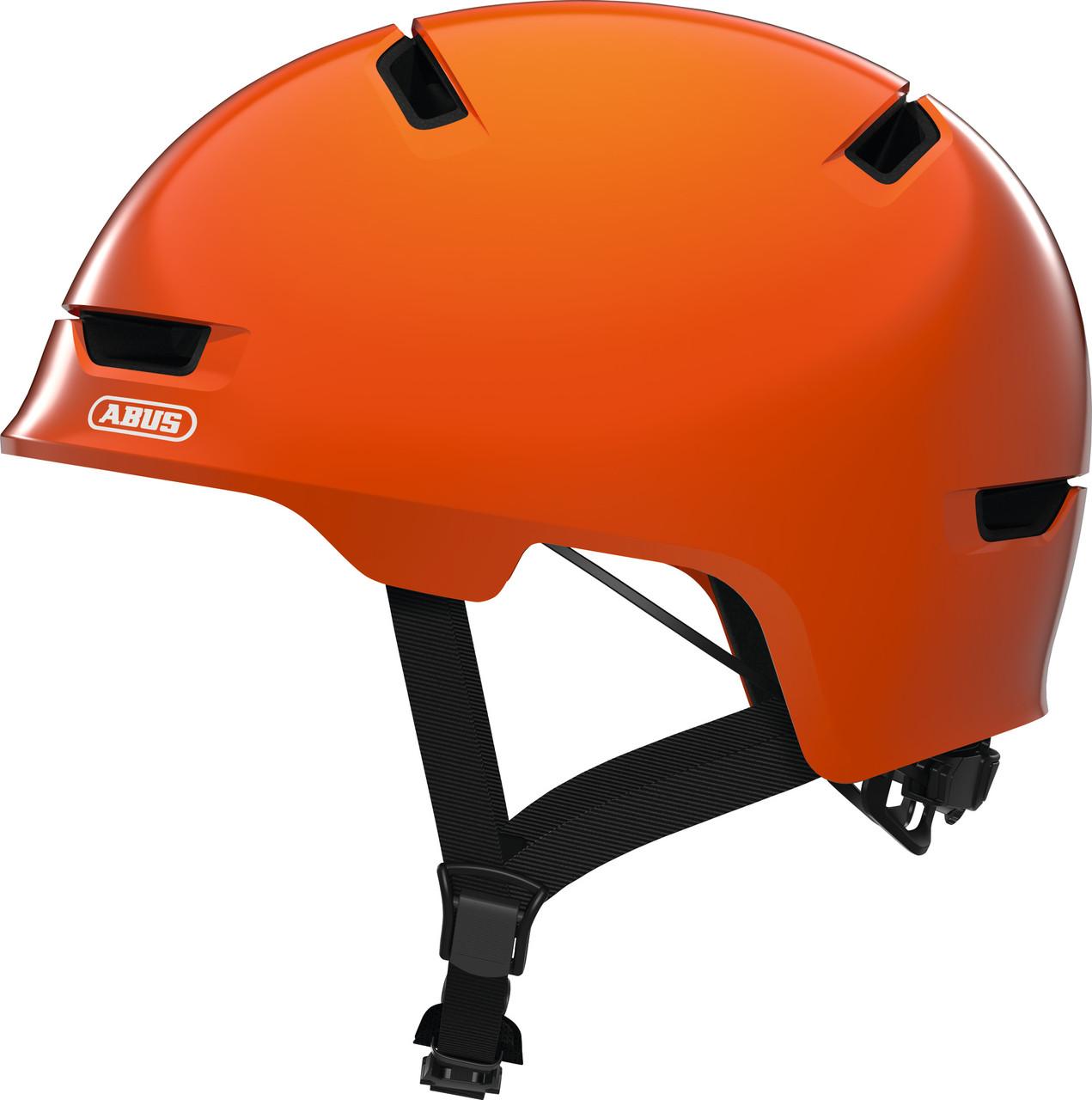 Велошлем детский ABUS SCRAPER 3.0 KID Shiny Orange S (51-55 см)