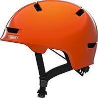 Велошлем детский ABUS SCRAPER 3.0 KID Shiny Orange S (51-55 см), фото 1