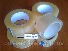 Скотч 120 метров /48 мм/38 мкм прозрачный упаковочный прочный, клейкая лента универсальная, упаковочная купить