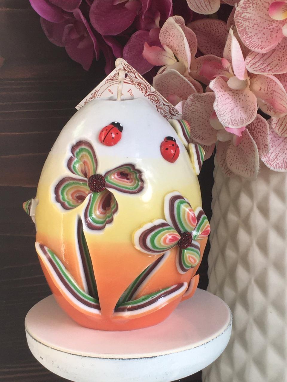 Красивое Пасхальное яицо